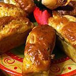 recette MINI-CAKE  AUX  CREVETTES