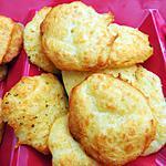 recette Tuiles salées au fromage