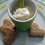 recette Petites Crème Lait de coco et Ananas
