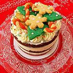 recette Naked cake de Noël chocolat, épices et Tonka