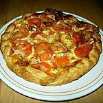 recette Tarte au chèvre et à la tomate