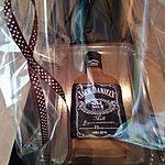 recette Gâteau d'anniversaire:Bouteille de whisky jack daniel's