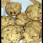 recette cupcakes au beurre de cacahuètes et pépites de chocolat