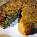 recette Gâteau aux carottes avec noix et amandes