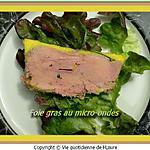 recette Foie gras au micro-ondes