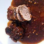 recette Paupiettes de veau sauce balsamique
