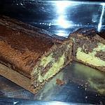 recette Cake marbré a la courge