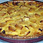 recette Tarte aux pommes crémeuse