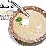 recette Velouté Topinambours, Champignon de Paris, Chèvre frais - Thermomix ou pas