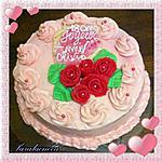 recette Gâteau framboise au mascarpone (anniversaire 18 ans nièce)