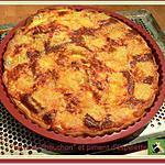 """recette Tarte au """"bouchon"""" et piment d'Espelette"""