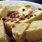 recette crème glacée aux miel et aux pignons