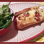 recette Petits pains au four farcis au bacon , à l'oignon doux et tomate.