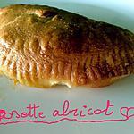 recette Gossettes au pomme ou abricot ou vanillé