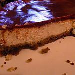 recette Cheesecake aux amandes et coulis de framboises