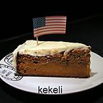 recette Gâteau américain à la carotte