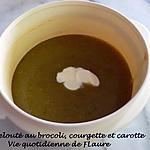 recette Velouté au brocoli, courgette et carotte