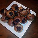 recette DOUCEURS AMANDES-FRAMBOISES