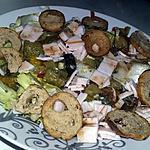 recette Salade aux légumes