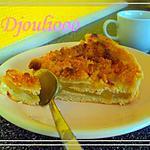 recette Tarte aux pommes crousti-moelleuse!! ;p