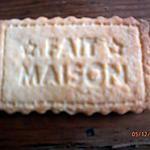 """recette BISCUITS """"FAIT MAISON"""""""