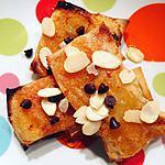 recette Bricks à l'ananas et abricot
