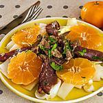 recette Salade de canard aux clémentines
