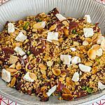 recette Taboulé au canard, tomates confites et amandes effilées