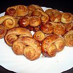 recette Palmiers sucre/cannelle