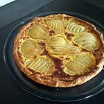 recette Tarte aux poires parfumer à La feve de tonka