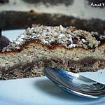 recette ** CHEESECAKE Ambiance Bistrot CAFE - NOISETTES GRILLEES  **