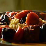 recette Tajine d'agneau au potiron, pruneaux et abricots secs