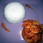 recette Crevettes à l'armoricaine