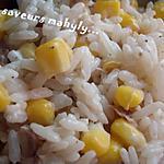 recette salade de riz ( celle servie au maroc ...quand on est invité....!)