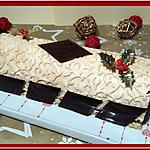 recette Bûche chocolat Dulcey, et son insert praliné