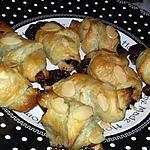 recette Minis croissants au Nutella amande