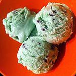 recette Crème glacée menthe et pépites de chocolat