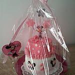 recette Gâteau d'anniversaire:Théme minnie