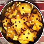 recette Sablés de Noël au beurre salé
