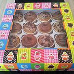 recette Assortiments de cupcakes au mars et créme de marron