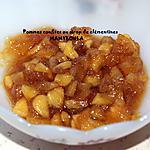 recette Pommes confites aux sirop de clémentines