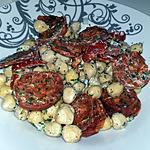 recette Salade de pois chiches au chorizo