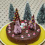 recette Fondant au chocolat spécial Noël