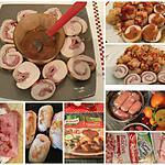 recette ROULE DE DINDE AU COOKEO