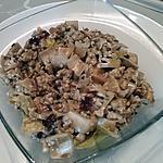 recette Salade de chou fleur et fruits secs