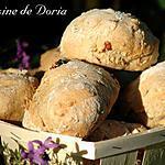 recette Petits pains aux cranberries et thé à la rose