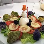 recette BONHOMME DE NEIGE avec des oeufs