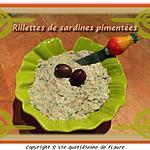 recette Rillettes de sardines pimentées