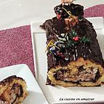 recette Bûche chocolat mascarpone