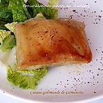 recette Croustillant de Sandre au Chaource